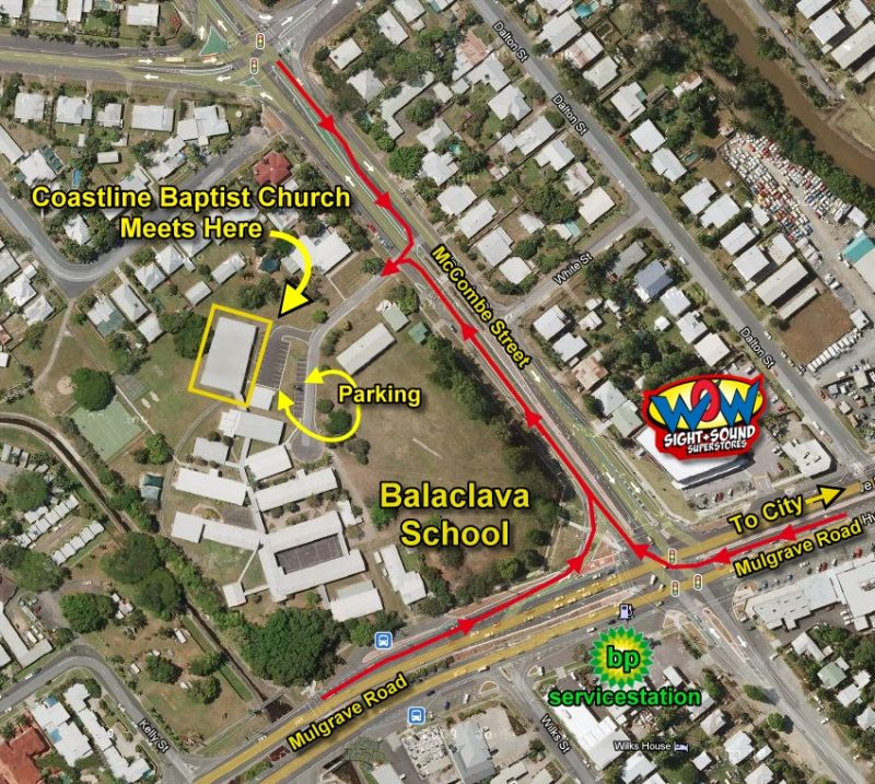 Directions to Balaclava School Hall